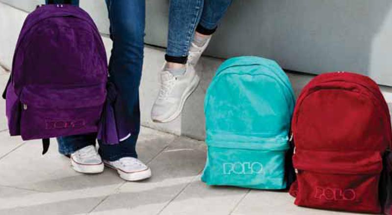 027b03961d6 Οι νέες παραλάβές της POLO σε σχολικές τσάντες έχουν τοποθετηθεί στα ράφια  από τον Μάϊο του 2018 για τη νέα σχολική χρονιά.