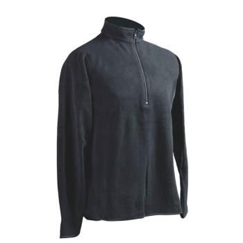 UNISEX Fleece μπλούζα ζιβάγκο POLO μακρυμάνικη Power Stretch 250gr/m²
