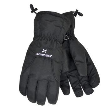 Χειμερινά γάντια πεζοπορίας - σκι EXTREMETLESS STORM GTX μαύρα