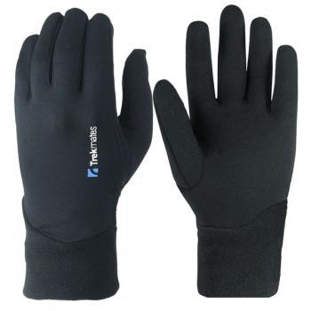 Εσωτερικά γάντια TREKMATES TRYFAN STRETCH μαύρα