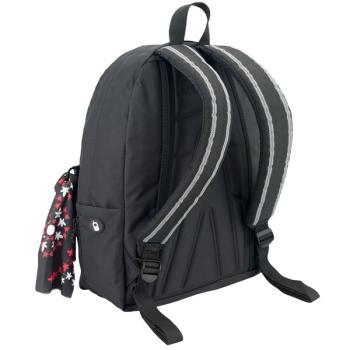 POLO Σχολική τσάντα πλάτης ORIGINAL Μαύρη 901135-02 2019