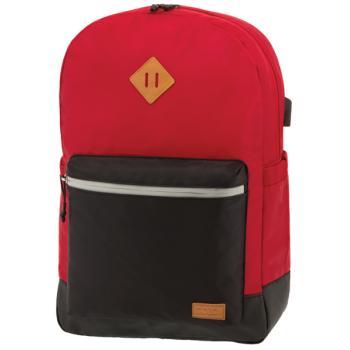 POLO Σχολική τσάντα πλάτης REFLECTIVE Κόκκινη 901244-03 2019