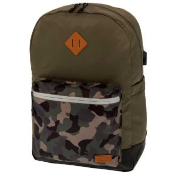POLO Σχολική τσάντα πλάτης REFLECTIVE Στρατιωτική 901244-07 2019