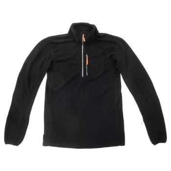 UNISEX Fleece μπλούζα 1/4 ZIP POLO μακρυμάνικη (2 χρώματα)