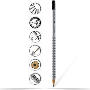 Μολύβι Faber Castell Grip 2001 B με γόμα