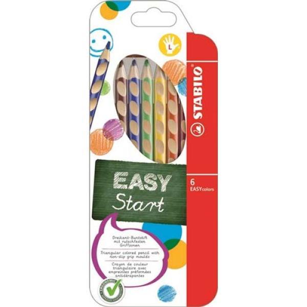 Ξυλομπογιές STABILO EASYcolor 331/ 6 τεμ Left (Αριστερόχειρες)