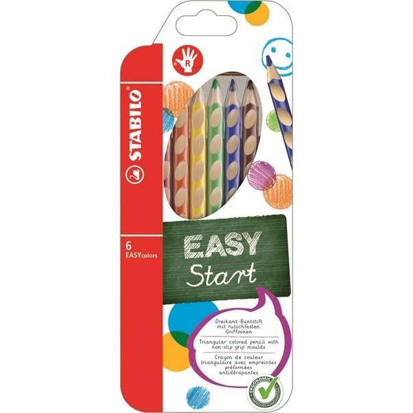 Ξυλομπογιές STABILO EASYcolor 332/ 6 τεμ Right (Δεξιόχειρες)