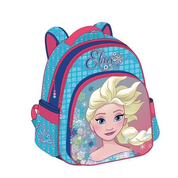 Σχολική τσάντα Δημοτικού FROZEN ANNA & ELSA με 3 θήκες 32x43x18cm 0561711