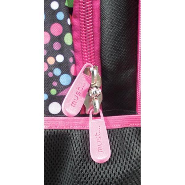 Σχολική τσάντα Πλάτης Δημοτικού MUST Rock Party 46x30x18cm 0579199