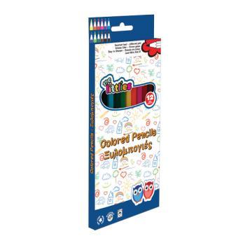 Ξυλομπογιές LUNA 12 χρώματα Οικονομικές 646082