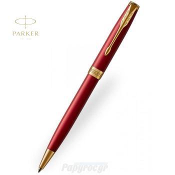 Στυλό Διαρκείας NEW SONNET CORE RED Lacquer GT 18Κ 1931476
