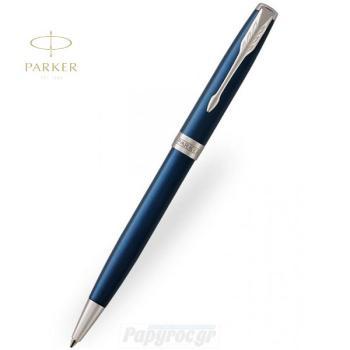 Στυλό Διαρκείας Parker NEW SONNET CORE Blue Lacquer CT 18Κ 1931536