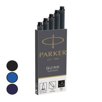 Μελάνι πένας PARKER μεγάλο BLACK (5 τεμάχια) 1950402