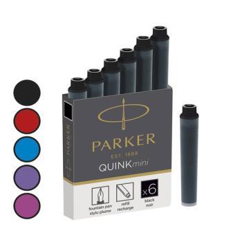 Μελάνι πένας PARKER mini BLACK (6 τεμάχια) 1950407