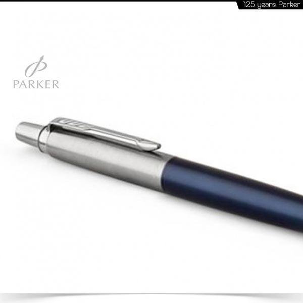 SET κασετίνα δώρου PARKER Στυλό Jotter PREMIUM ROYAL BLUE + LEATHER POUCH