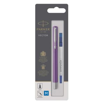 Στυλό PARKER Rollerball VECTOR PURPLE CT 2025459