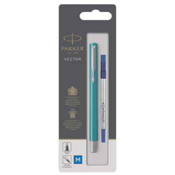 Στυλό PARKER Rollerball VECTOR BLUE-GREEN CT 2025753