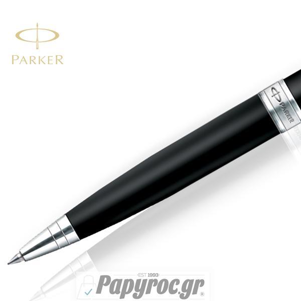 Στυλό Διαρκείας Parker ASTER BLACK MATTE CT