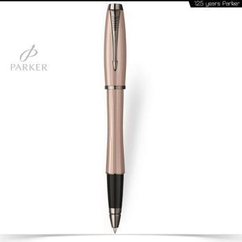 Στυλό Roller Parker URBAN PREMIUM Μεταλλικό ροζ με νίκελ λεπτομέρειες S0949270