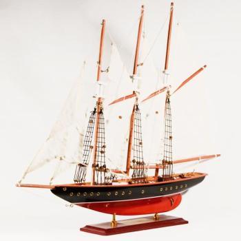 Ξύλινο Καράβι με πανιά ATLANTIC 60cmX45cm