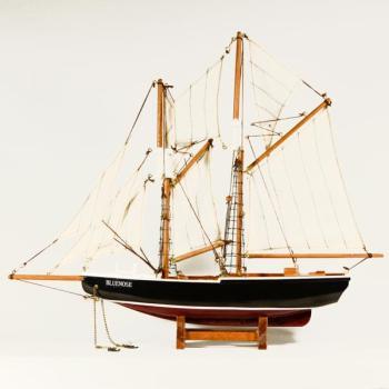 Ξύλινο Καράβι Ιστιοφόρο BLUENOSE 42cmX36cm