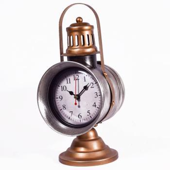 Vintage Διακοσμητικό Ρολόι Φανάρι 29.0cm