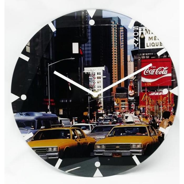 Ρολόϊ τοίχου γυαλί 30.0 cm