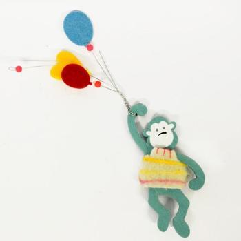 Ξύλινα είδη για πάρτυ - Πίθηκος Μπαλόνια 22.0cm X 5.0cm