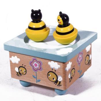 Μουσικό Κουτί Μέλισσες 11.5 cm