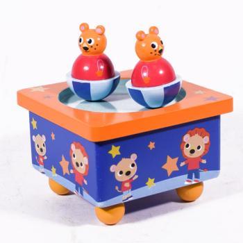 Μουσικό Κουτί Αρκουδάκια 11.5 cm