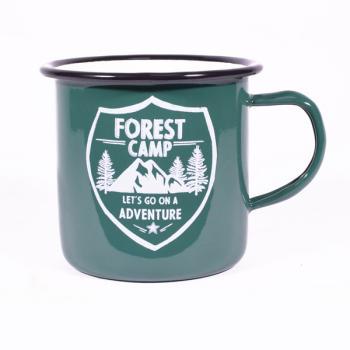 Μεταλλική Κούπα πράσινη FOREST CAMP 8.5 cm