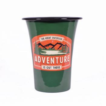 Μεταλλική Κούπα πράσινη ADVENTURE 12.0 cm
