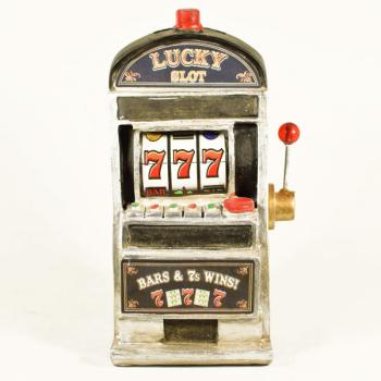Vintage Διακοσμητικό μινιατούρα πολυεστερικό Κουλοχέρης 19 cm