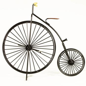 Vintage Διακοσμητικό μεταλλική μινιατούρα - Μεταλλικό Τρίκυκλο Ποδήλατο 26.0 cm