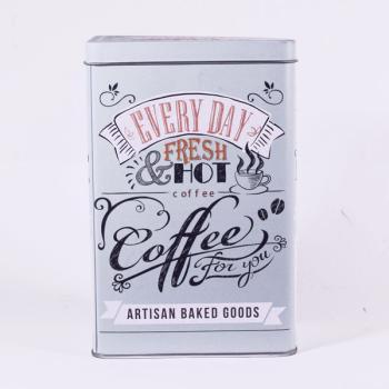 Μεταλλικό κουτί καφέ 18.5 cm