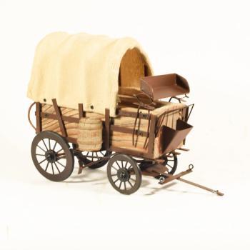 Vintage Διακοσμητικό Άμαξα 22.5 cm