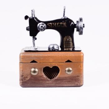 Vintage Διακοσμητικό Ραπτομηχανή Singer 9.5cm