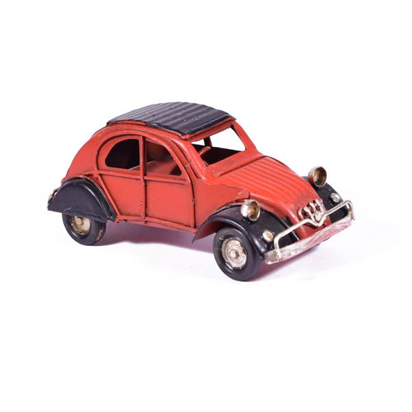 Vintage Διακοσμητικό Ντεσεβώ Κόκκινο 11.5cm