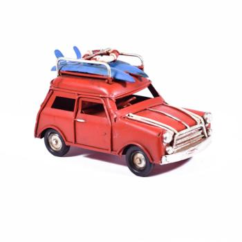 Vintage Διακοσμητικό Mini Κόκκινο 11.0cm