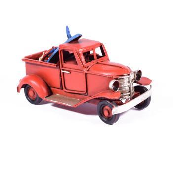 Vintage Διακοσμητικό Φορτηγάκι Κόκκινο 11.0cm