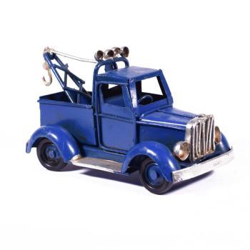 Vintage Διακοσμητικό Φορτηγάκι Μπλε 11.5cm