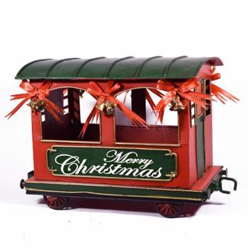 Vintage Διακοσμητικό Βαγόνι Τρένου 31.0cm