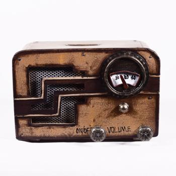 Vintage Διακοσμητικό Ραδιόφωνο Κουμπαράς 15.50cm
