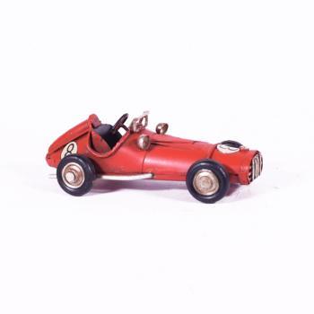 Vintage Διακοσμητικό - Κόκκινο Αγωνιστικό 11.0cm