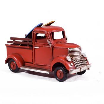Vintage Διακοσμητικό Φορτηγάκι Κόκκινο 16.5cm