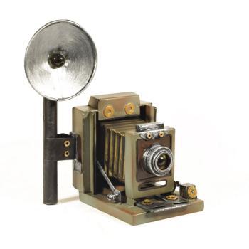 Vintage Διακοσμητικό Κάμερα με Φλας 20.5 cm