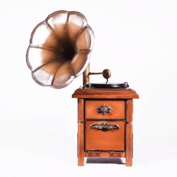Vintage Διακοσμητικό Γραμμόφωνο 26.5cm