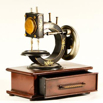Vintage Μινιατούρα Μεταλλική Ραπτομηχανή 19.0 cm