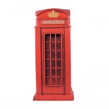 Vintage Διακοσμητικό Θάλαμος Λονδίνου Κουμπαράς 27.5cm