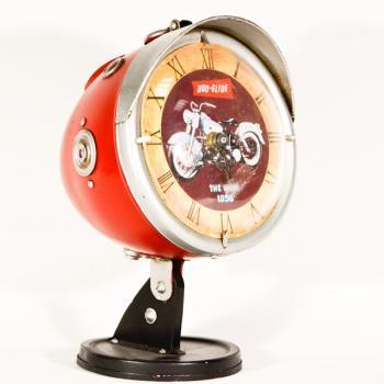 Vintage Διακοσμητικό Ρολόι Φανάρι 22.0cm